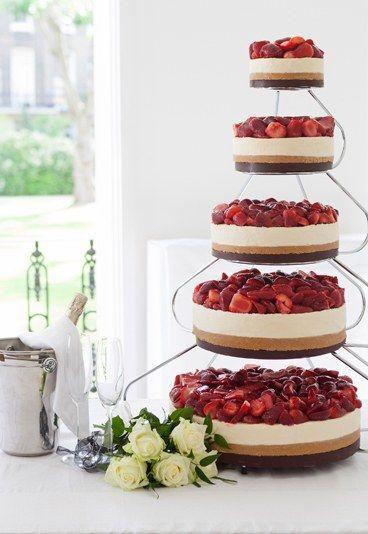 Cheesecake Wedding Cakes  5 Homemade Wedding Cakes You Can Actually Make The I Do