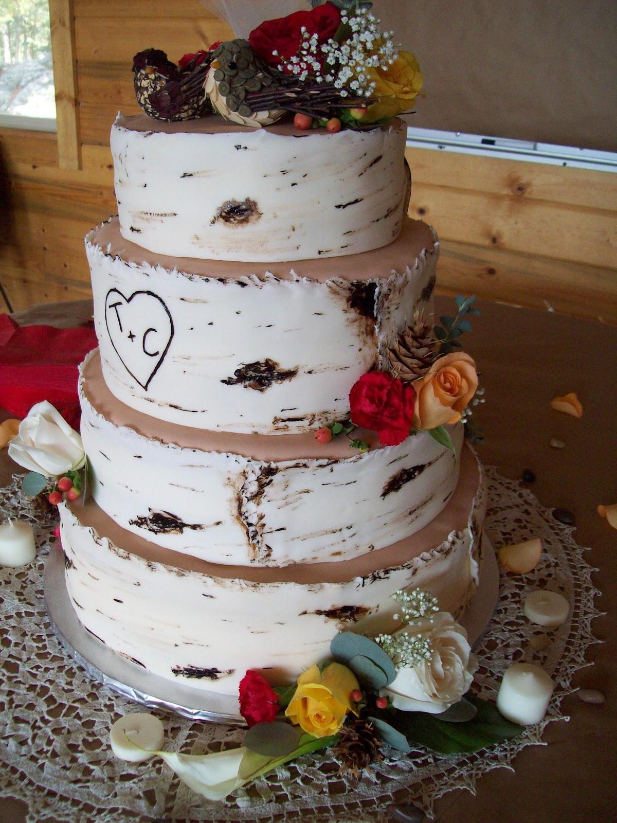 Cheesecake Wedding Cakes  The Frosting Posey Aspen Wedding Cake