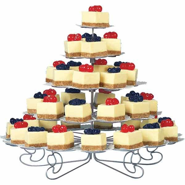 Cheesecake Wedding Cakes  cheese cake in lieu of wedding cake Reception Project