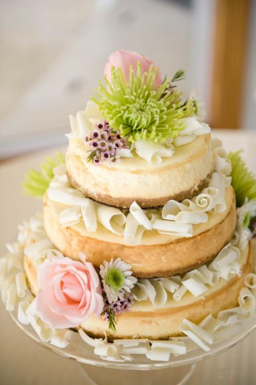 Cheesecake Wedding Cakes  Delicious Options if You Don't Want a Wedding Cake