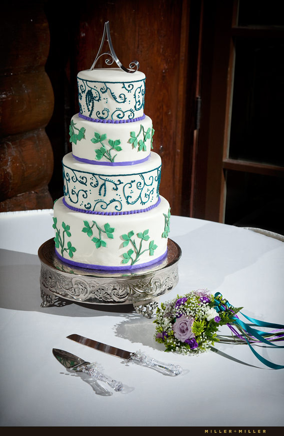 Chicago Wedding Cakes  Starved Rock Lodge Wedding graphy Utica Illinois