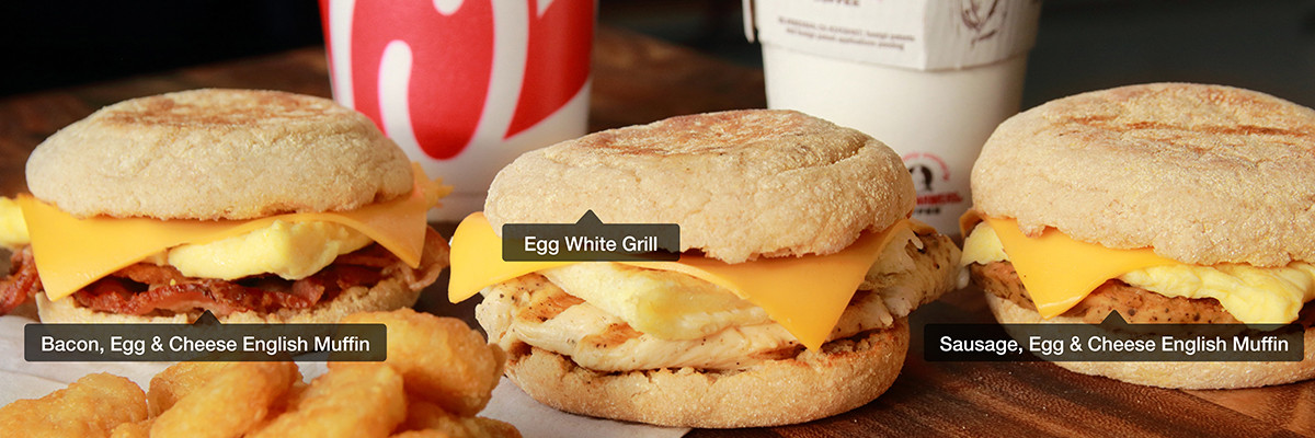 Chick Fil A Healthy Breakfast  What Time Does Chick fil A Stop Serving Breakfast