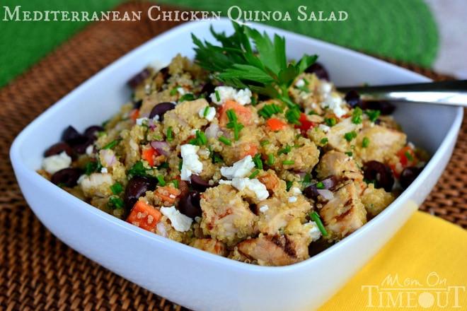 Chicken And Quinoa Recipe Healthy  chicken quinoa salad recipes