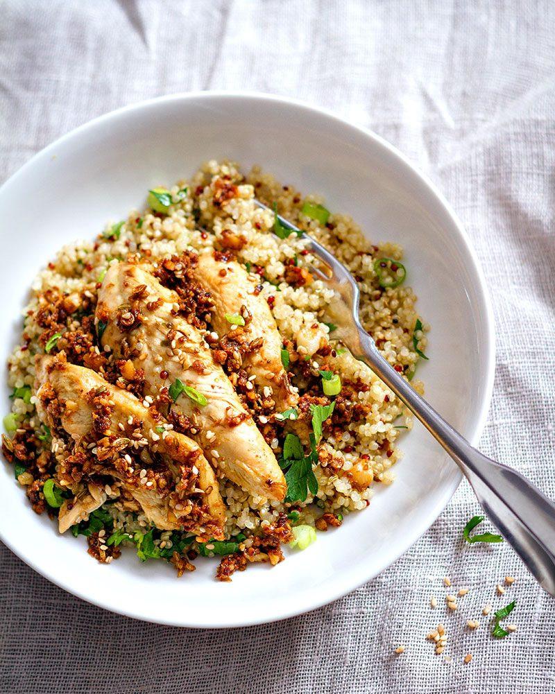 Chicken And Quinoa Recipe Healthy  Garlic Lime Chicken Tenders and Quinoa Recipe — Eatwell101