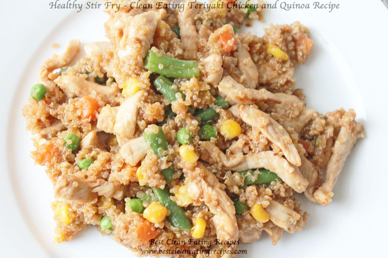 Chicken And Quinoa Recipe Healthy  Healthy Stir Fry with Chicken & Quinoa