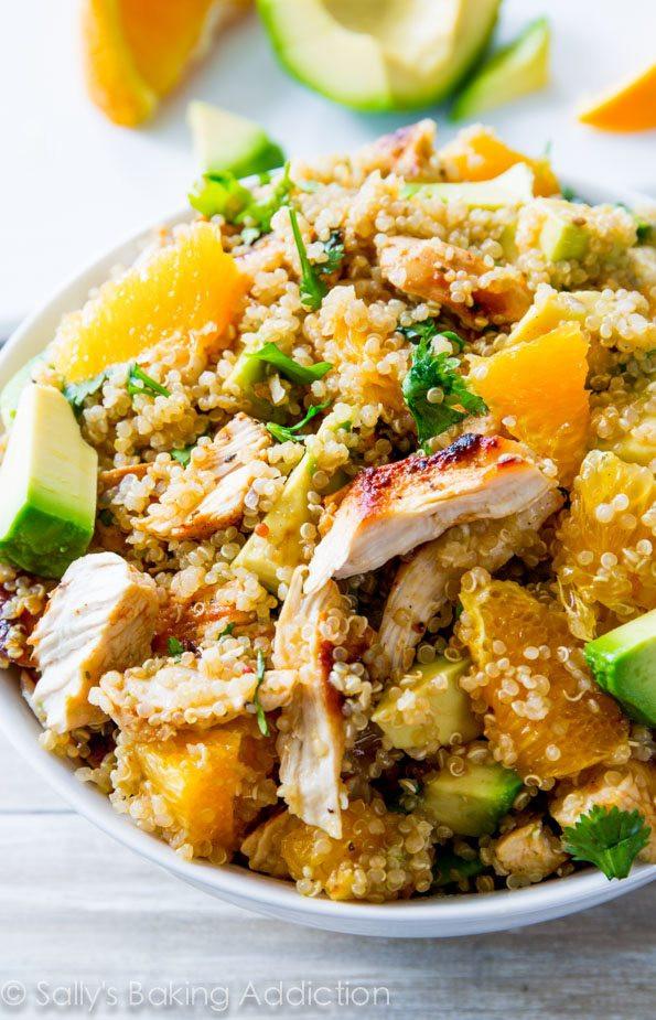 Chicken And Quinoa Recipe Healthy  quinoa chicken salad lunch