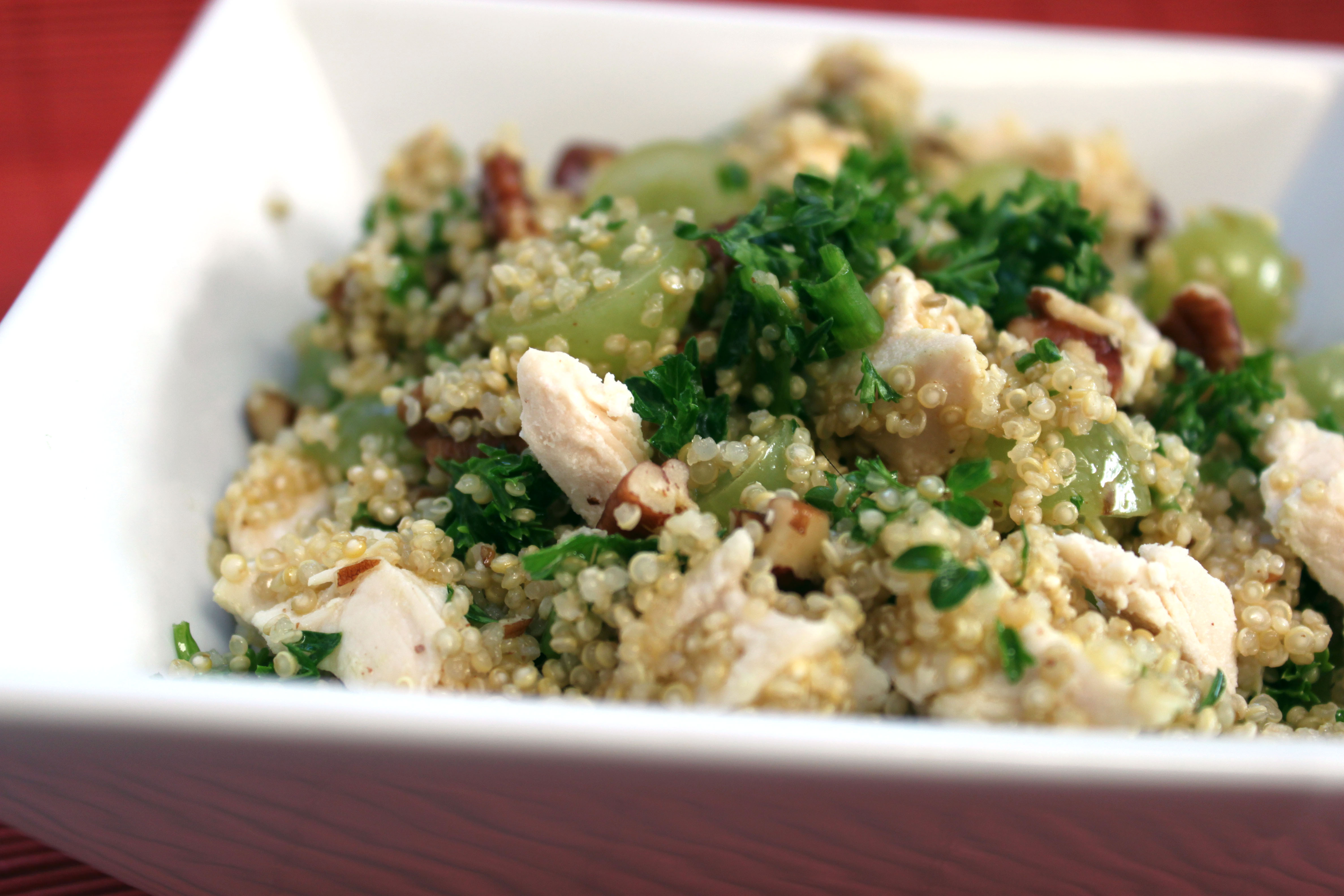 Chicken And Quinoa Recipe Healthy  Healthy Chicken and Quinoa Salad Kris M Beal