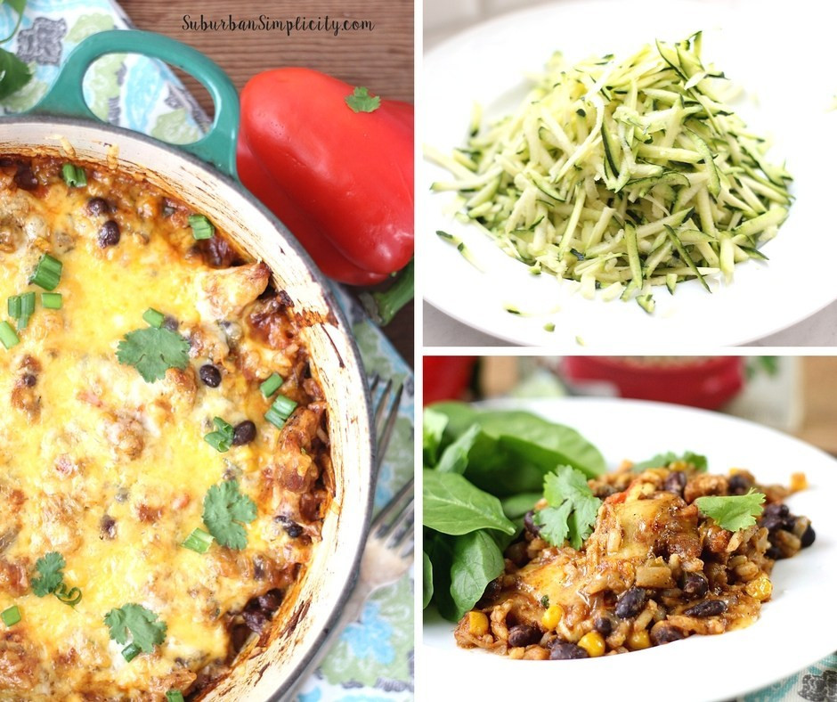 Chicken And Rice Casserole Healthy  Mexican Chicken Rice and Veggie Casserole