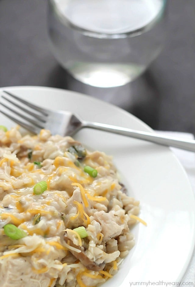 Chicken And Rice Casserole Healthy  Skinny Chicken and Rice Casserole Yummy Healthy Easy