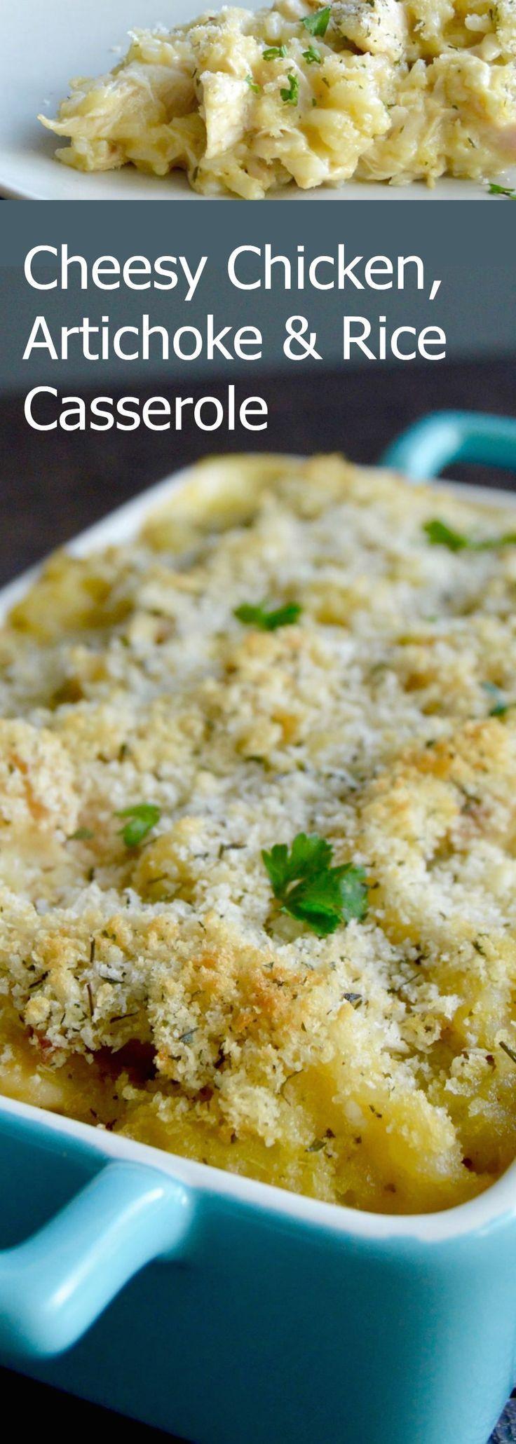 Chicken Artichoke Casserole Healthy  Best 25 Artichokes ideas on Pinterest