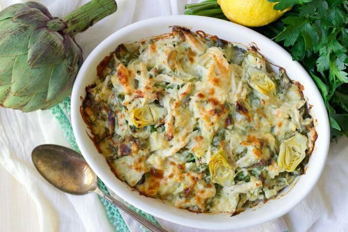Chicken Artichoke Casserole Healthy 20 Of the Best Ideas for Healthy Spinach Artichoke Chicken Casserole