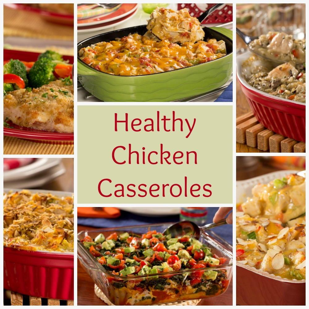 Chicken Casserole Healthy  Healthy Chicken Casserole Recipes 6 Easy Chicken