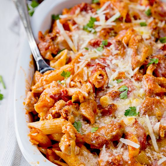 Chicken Casserole Recipes Healthy  healthy chicken parmesan casserole