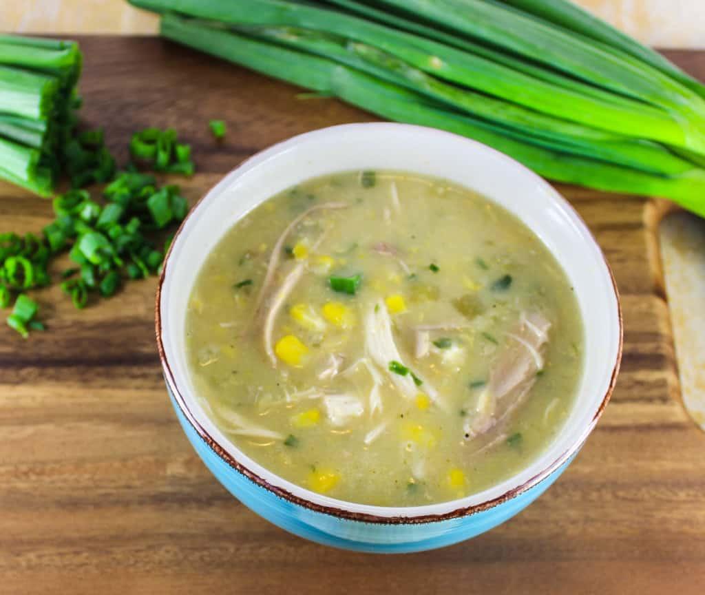 Chicken Corn Chowder Healthy  Chicken Corn Chowder