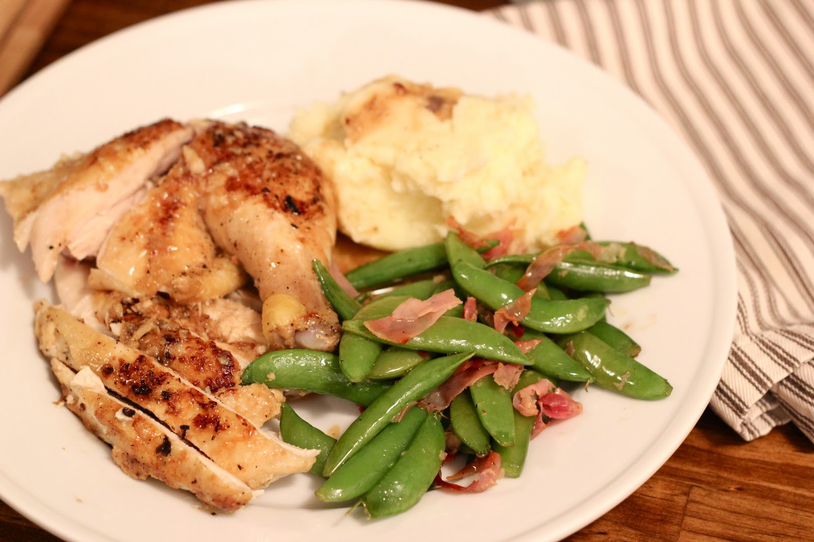Chicken Dinners Healthy  Jenny Steffens Hobick Pan Seared Lemon Garlic Chicken