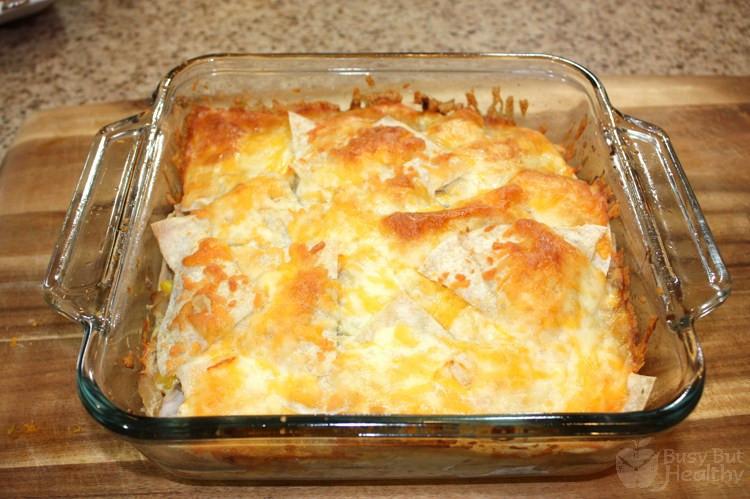 Chicken Enchilada Casserole Healthy  Chicken Enchilada Casserole Busy But Healthy