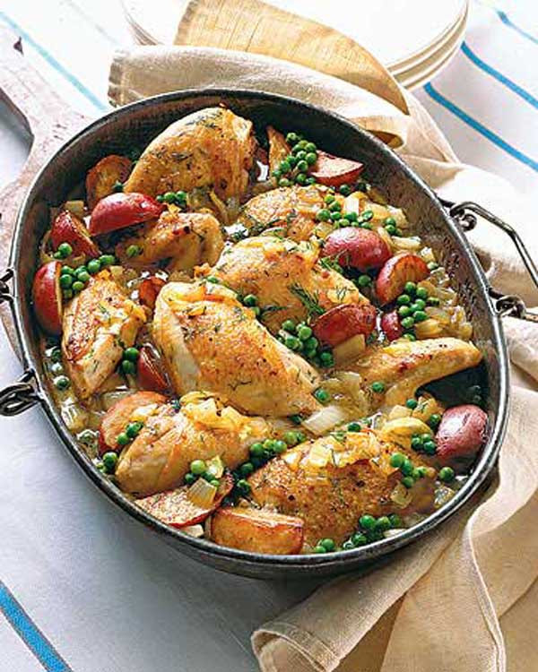 Chicken For Easter Dinner  Easter Dinner Recipes and Easter Food Ideas Easyday