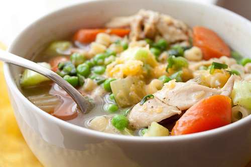Chicken Noodle Soup Healthy  Healthy Homemade Chicken Noodle Soup