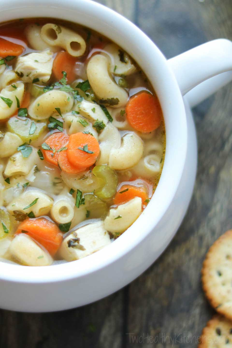 Chicken Noodle Soup Healthy  Quick & Easy Chicken Noodle Soup with Rotisserie Chicken