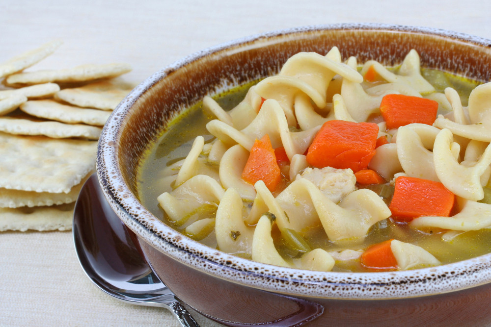 Chicken Noodle Soup Healthy  Pinch of This A Dash of That Healthy Chicken Noodle Soup