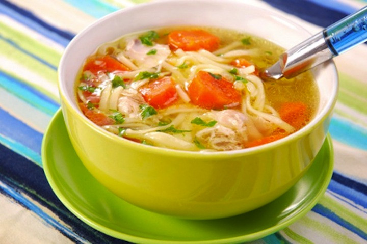Chicken Noodle Soup Healthy  Top 10 Healthy Crock Pot Chicken Soups and Chilis