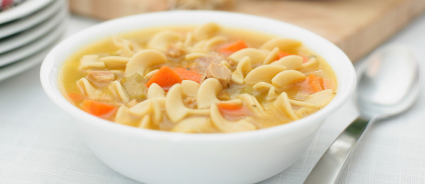 Chicken Noodle Soup Healthy  Healthy Recipe From Joy Bauer s Food Cures Chicken Noodle Soup