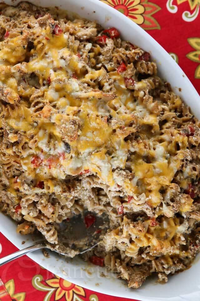 Chicken Pasta Casserole Healthy  healthy chicken pasta casserole