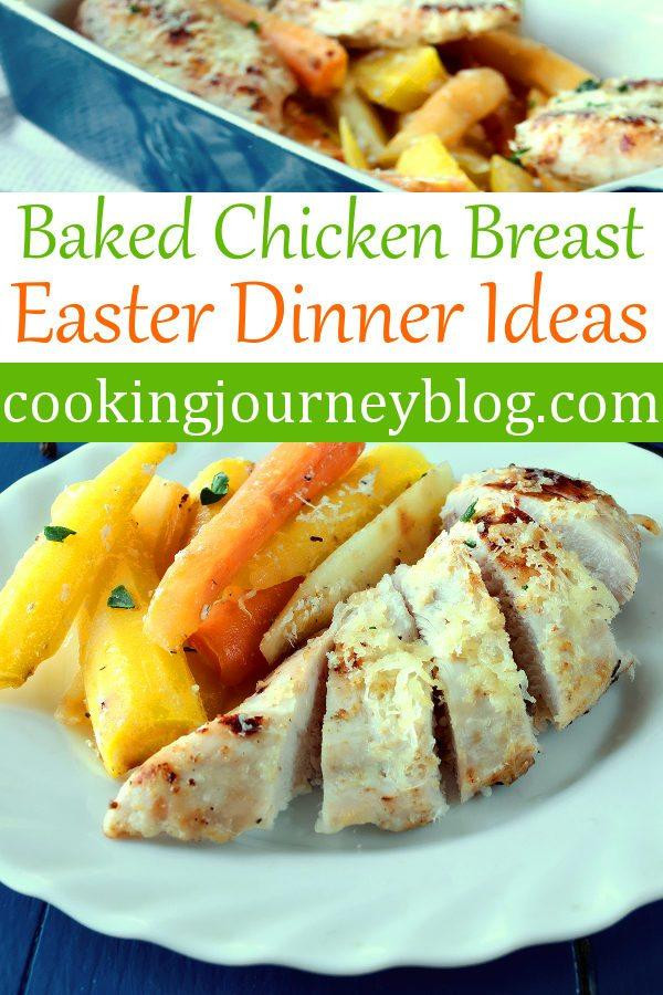 Chicken Recipes For Easter Dinner  Baked chicken breast Roasted carrots Easter dinner ideas