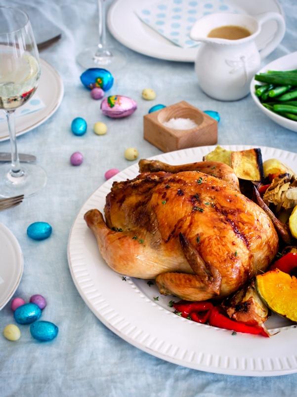 Chicken Recipes For Easter Dinner  Perfect Roast Chicken Dinner