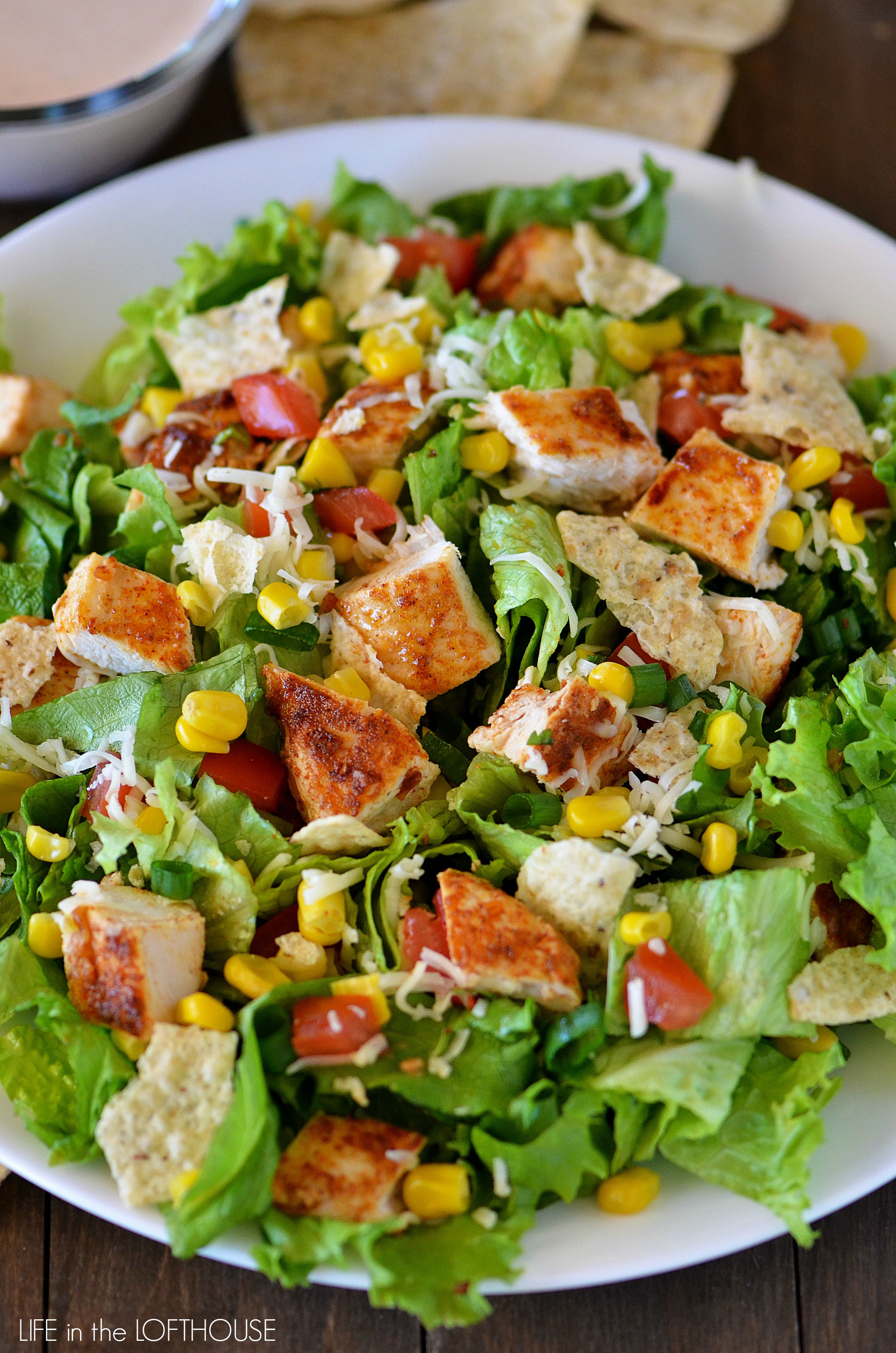 Chicken Salad Healthy  Chicken Taco Salad Life In The Lofthouse