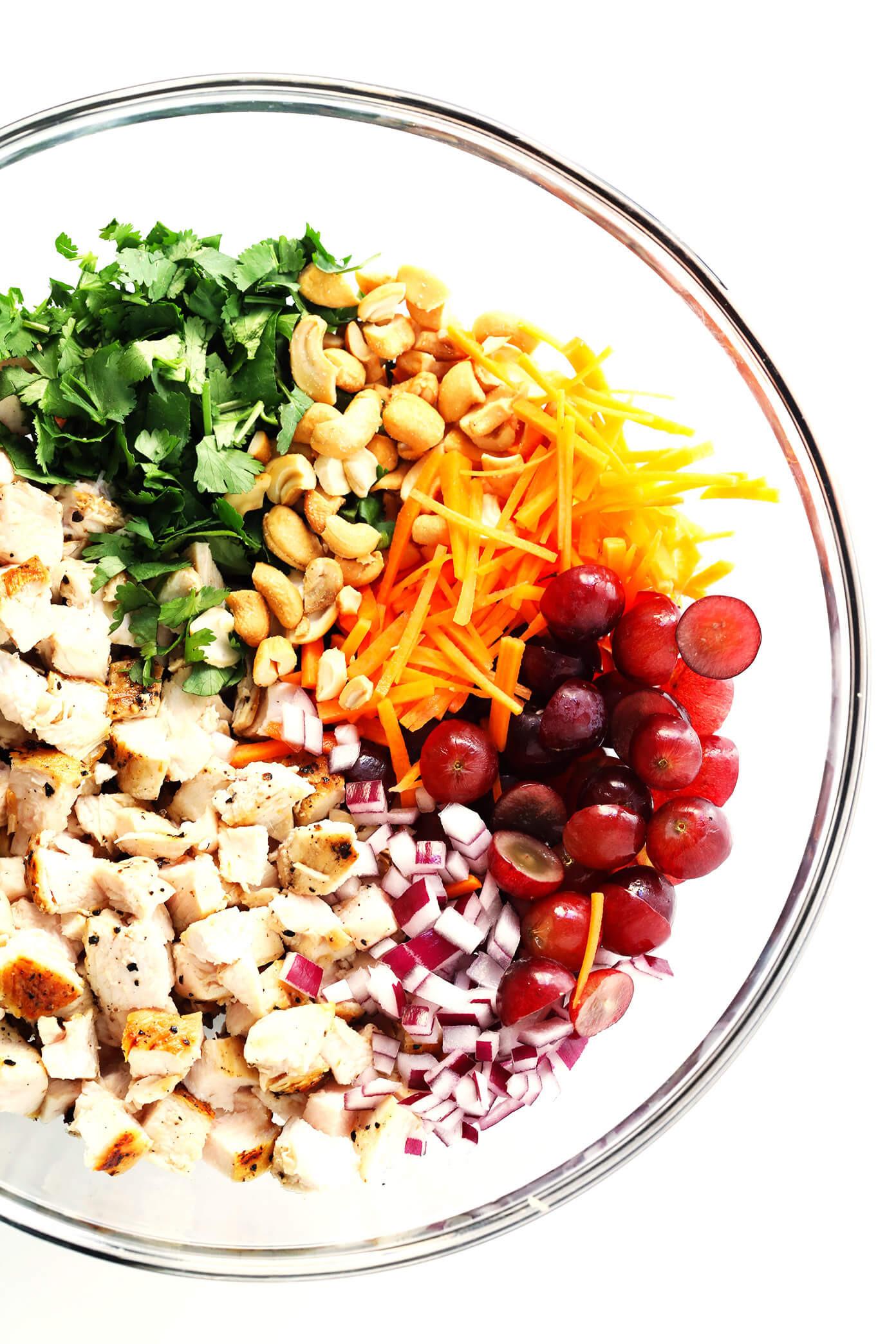 Chicken Salad Healthy  Healthy Curry Chicken Salad
