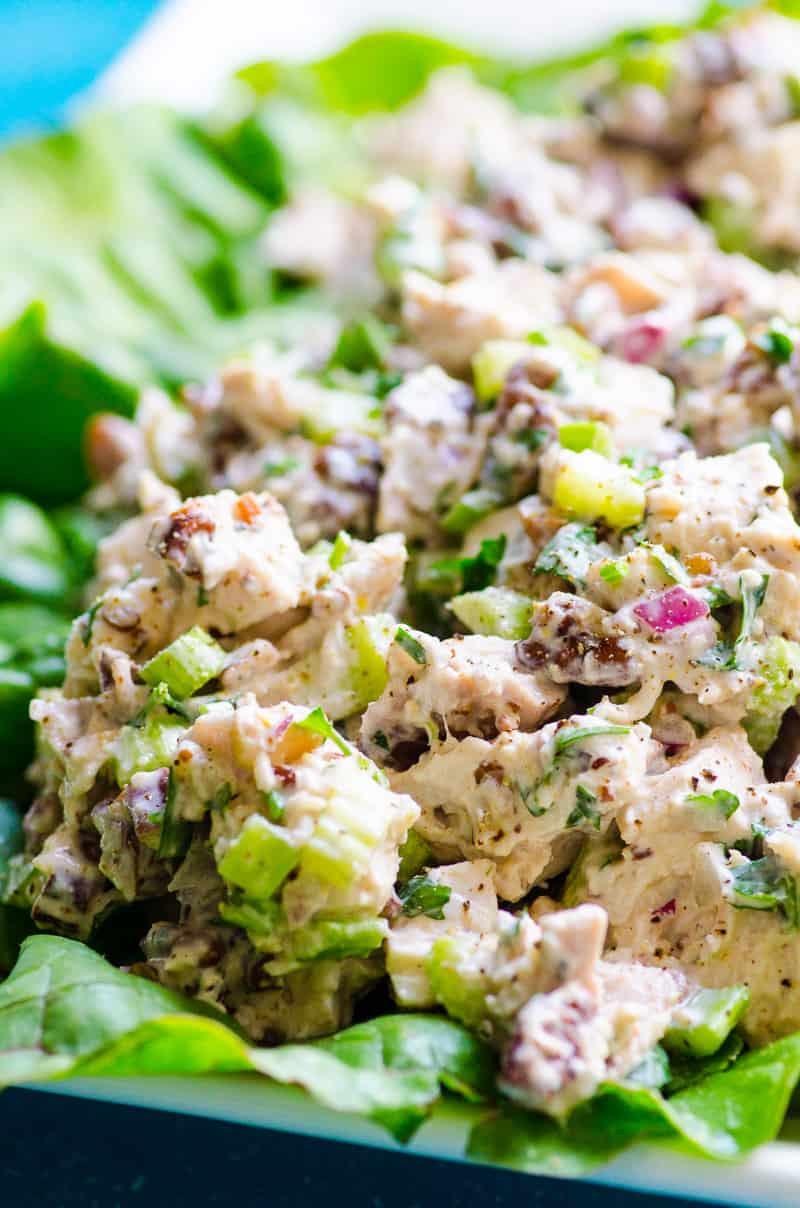 Chicken Salad Recipe Healthy  Healthy Chicken Salad Recipe iFOODreal Healthy Family