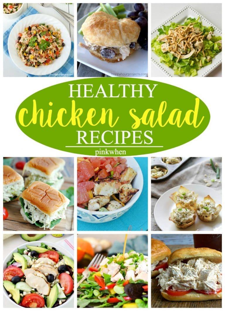 Chicken Salad Recipe Healthy  12 Amazing Chicken Salad Recipes PinkWhen