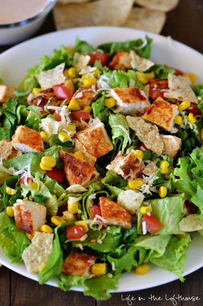 Chicken Salad Recipe Healthy  Best 25 Chicken taco salads ideas on Pinterest