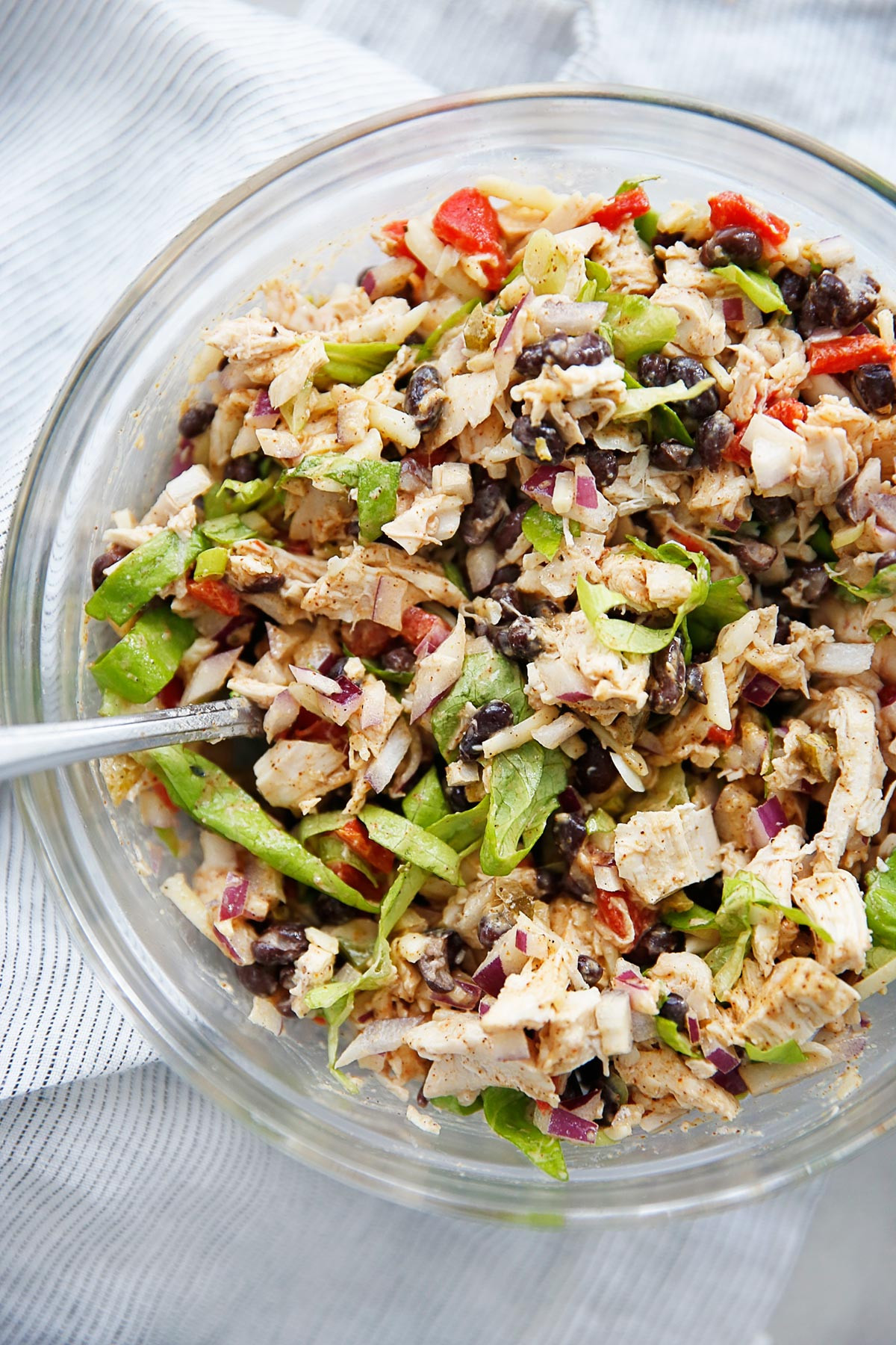 Chicken Salad Recipe Healthy  Healthy Taco Chicken Salad Recipe Perfect For Lunches All Week