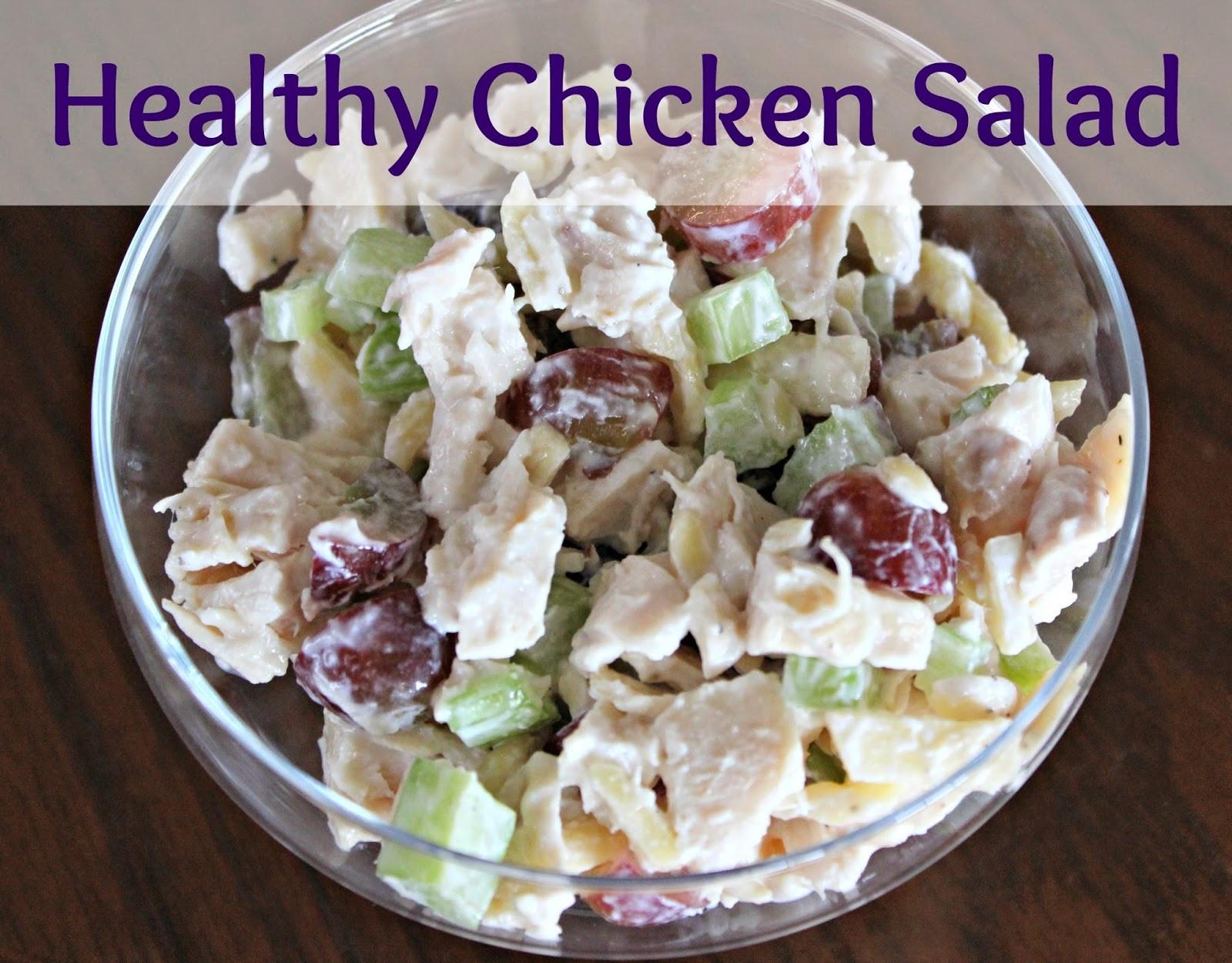 Chicken Salad Recipes Healthy  Healthy Chicken Salad Recipe — Dishmaps