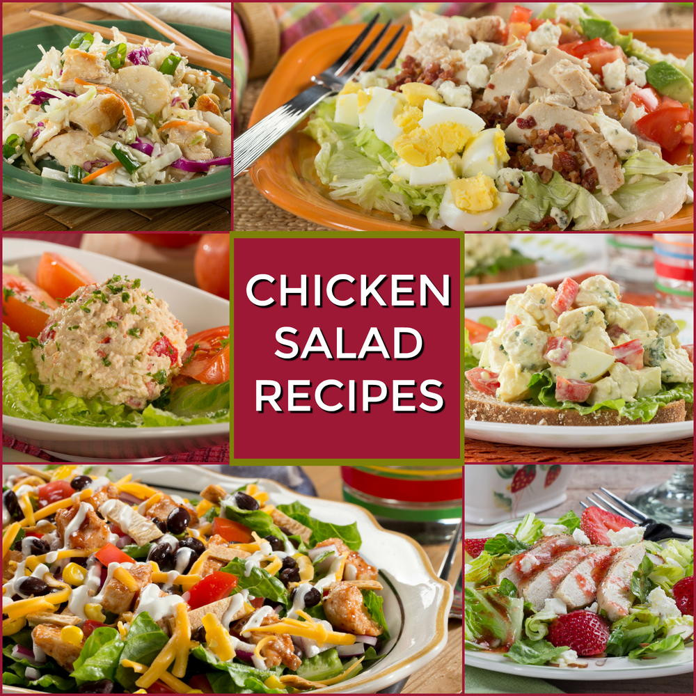 Chicken Salad Recipes Healthy  Healthy Chicken Salad Recipes