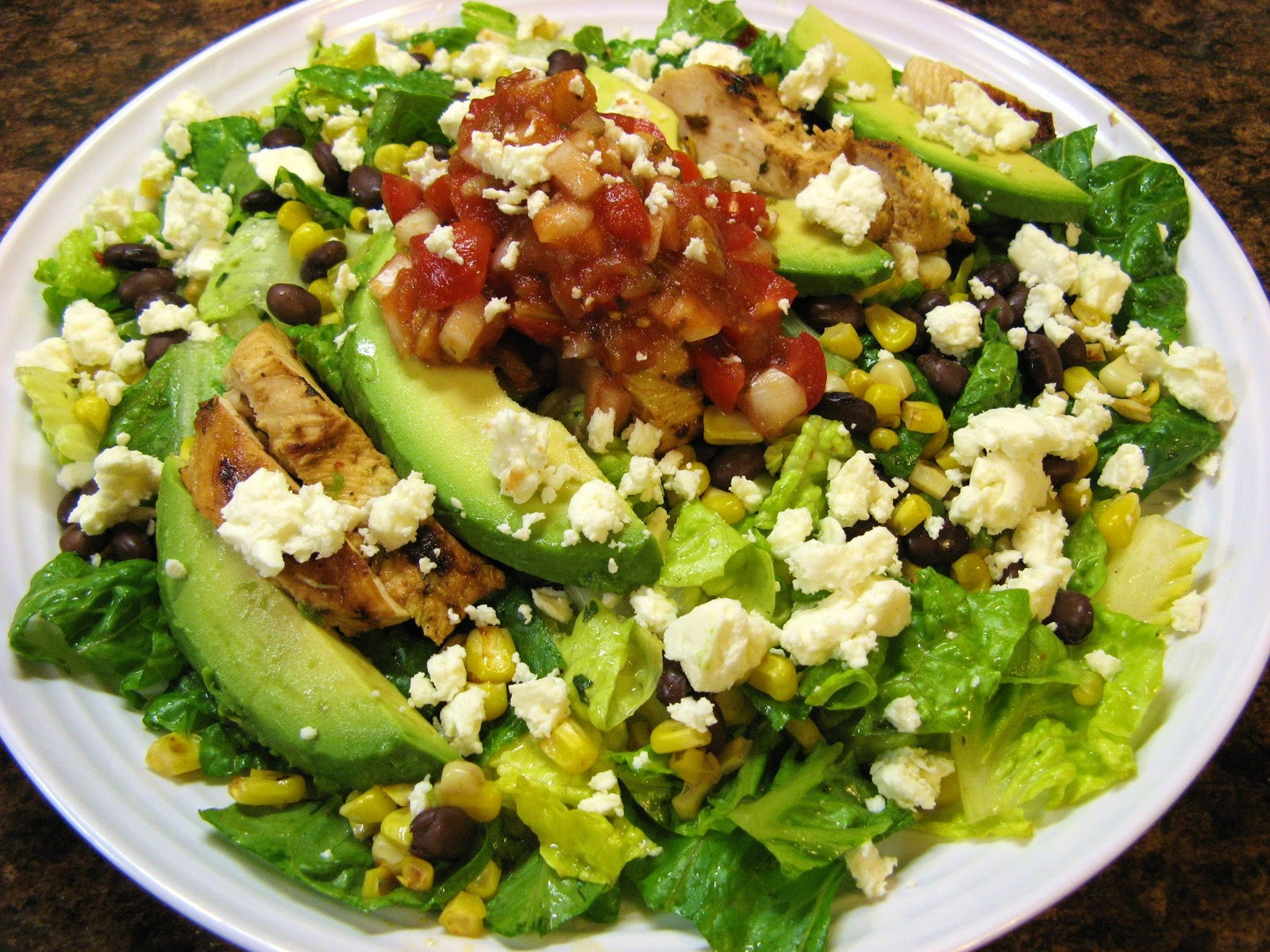 Chicken Salads Healthy  The Well Fed Newlyweds Healthy Recipes to Kick f the