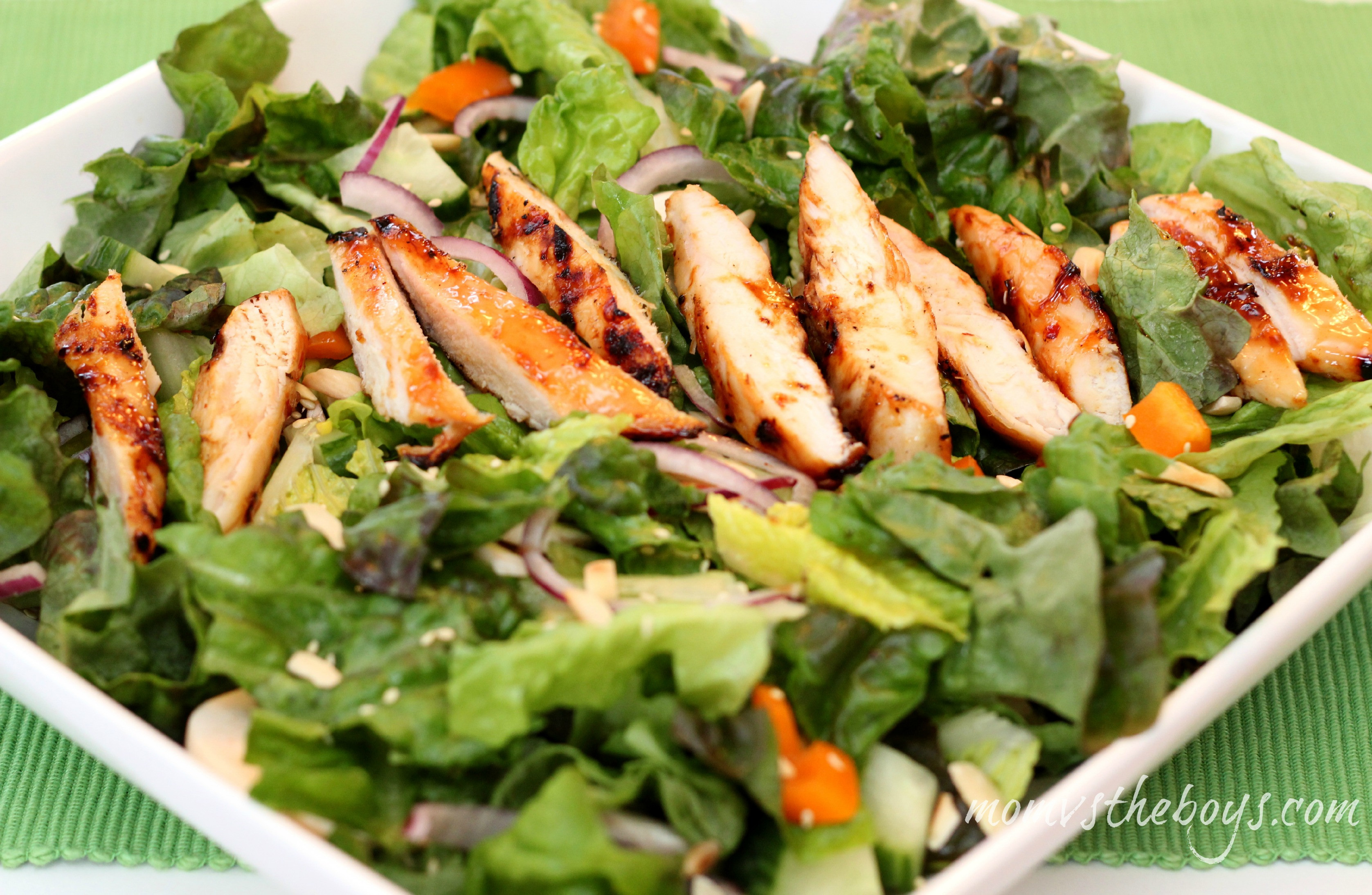 Chicken Salads Healthy  Healthy Eating with President s Choice Mom vs the Boys