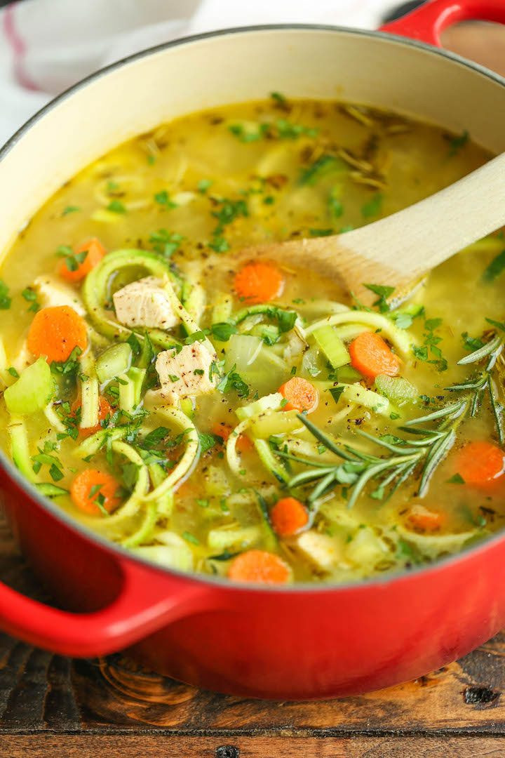 Chicken Soup Healthy  9 Low Carb Soup Recipes to Stay Warm and Full of Energy