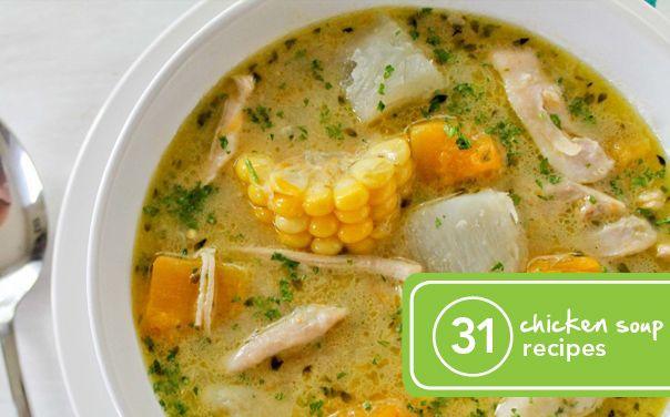 Chicken Soup Recipe Healthy  31 Healthy and Creative Chicken Soup Recipes