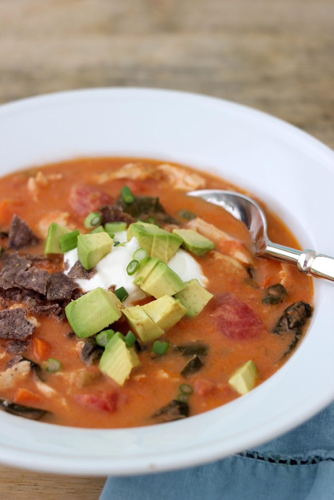 Chicken Soup Recipe Healthy  Jenny Steffens Hobick Chicken Tortilla Soup