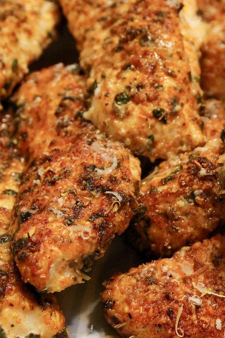 Chicken Tenders Healthy Recipes  Best 25 Baked chicken tenderloins ideas on Pinterest