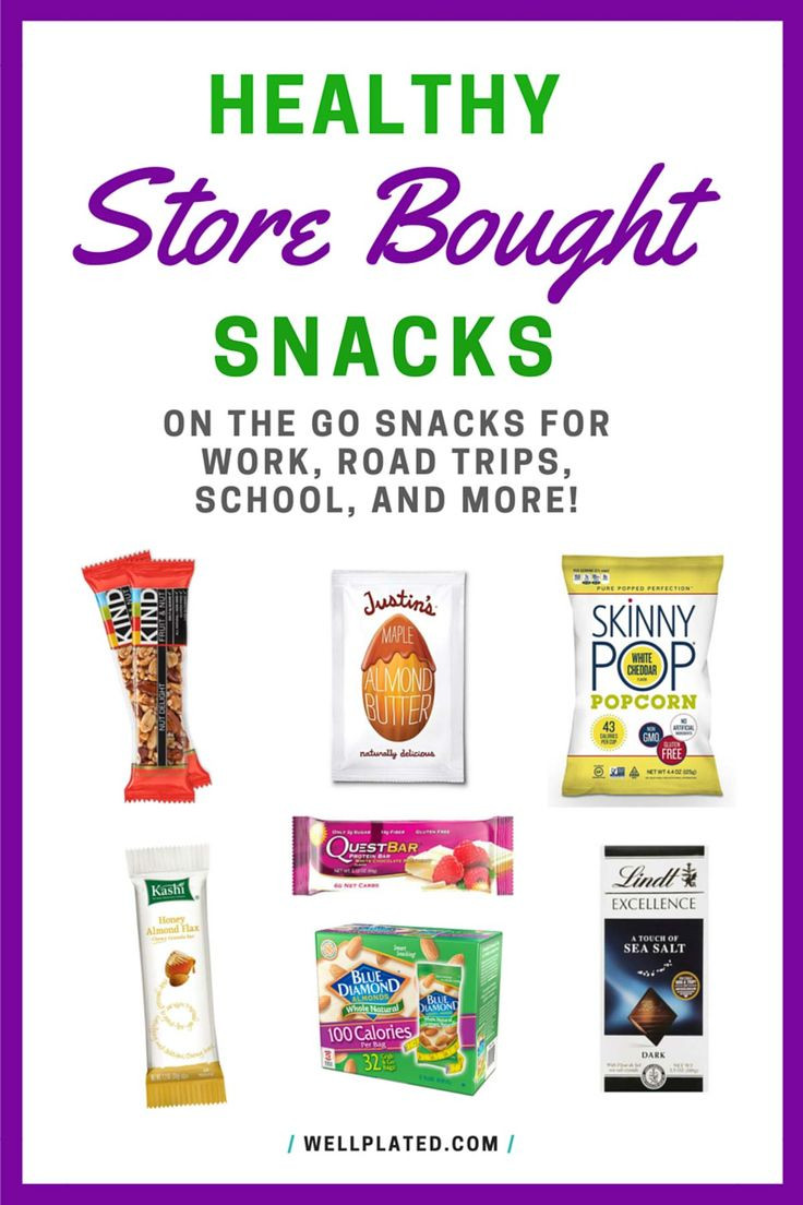 Childrens Healthy Snacks  Healthy store bought snacks for when you are on the go