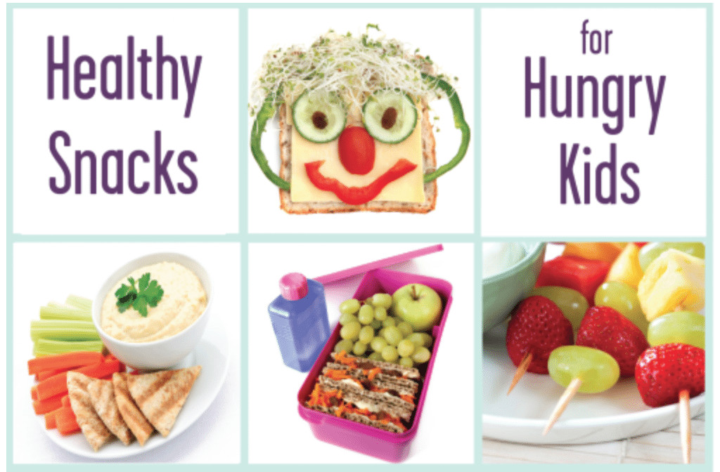 Childrens Healthy Snacks  Healthy Snacks for Hungry Kids