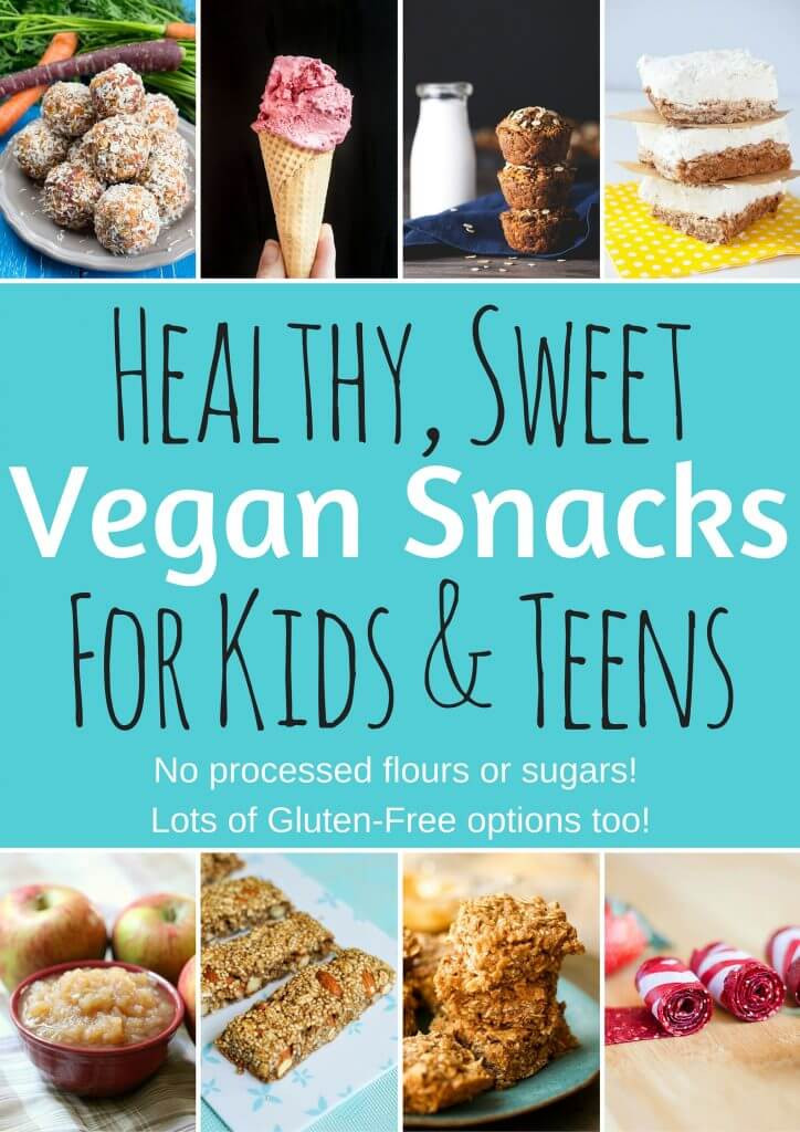 Childrens Healthy Snacks  Healthy Vegan Snacks for Kids & Teens Sweet Edition