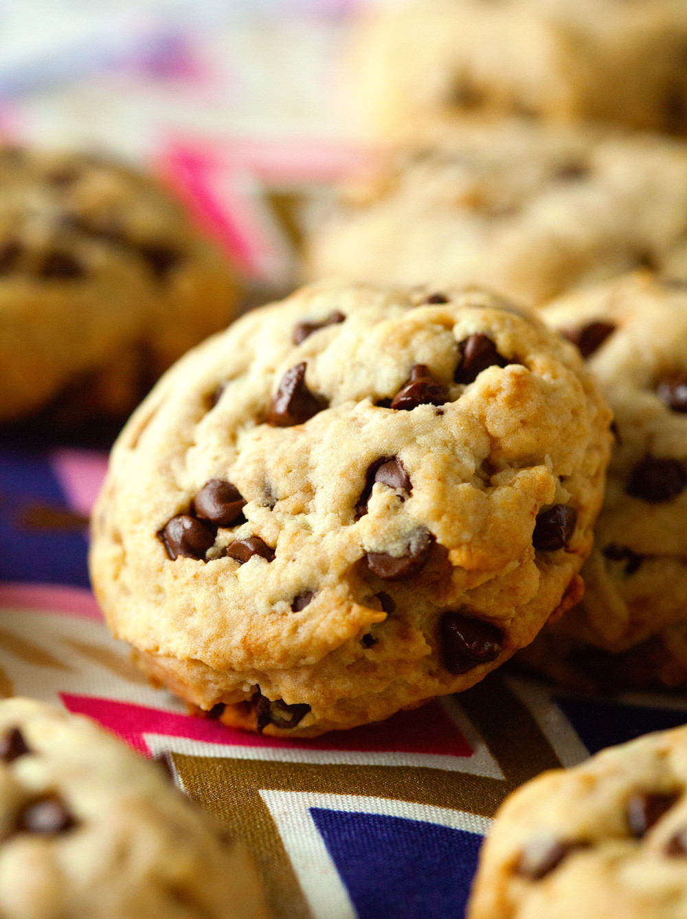 Chocolate Chip Cookies Healthy  Unbelievably Healthy Chocolate Chip Cookies