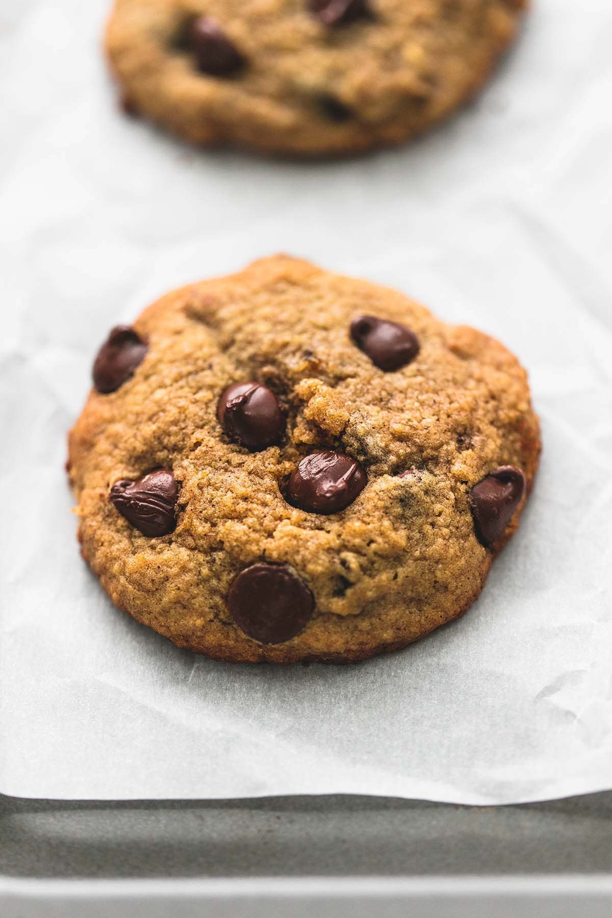 Chocolate Chip Cookies Healthy  BEST Ever Healthy Banana Chocolate Chip Cookies TheDirtyGyro