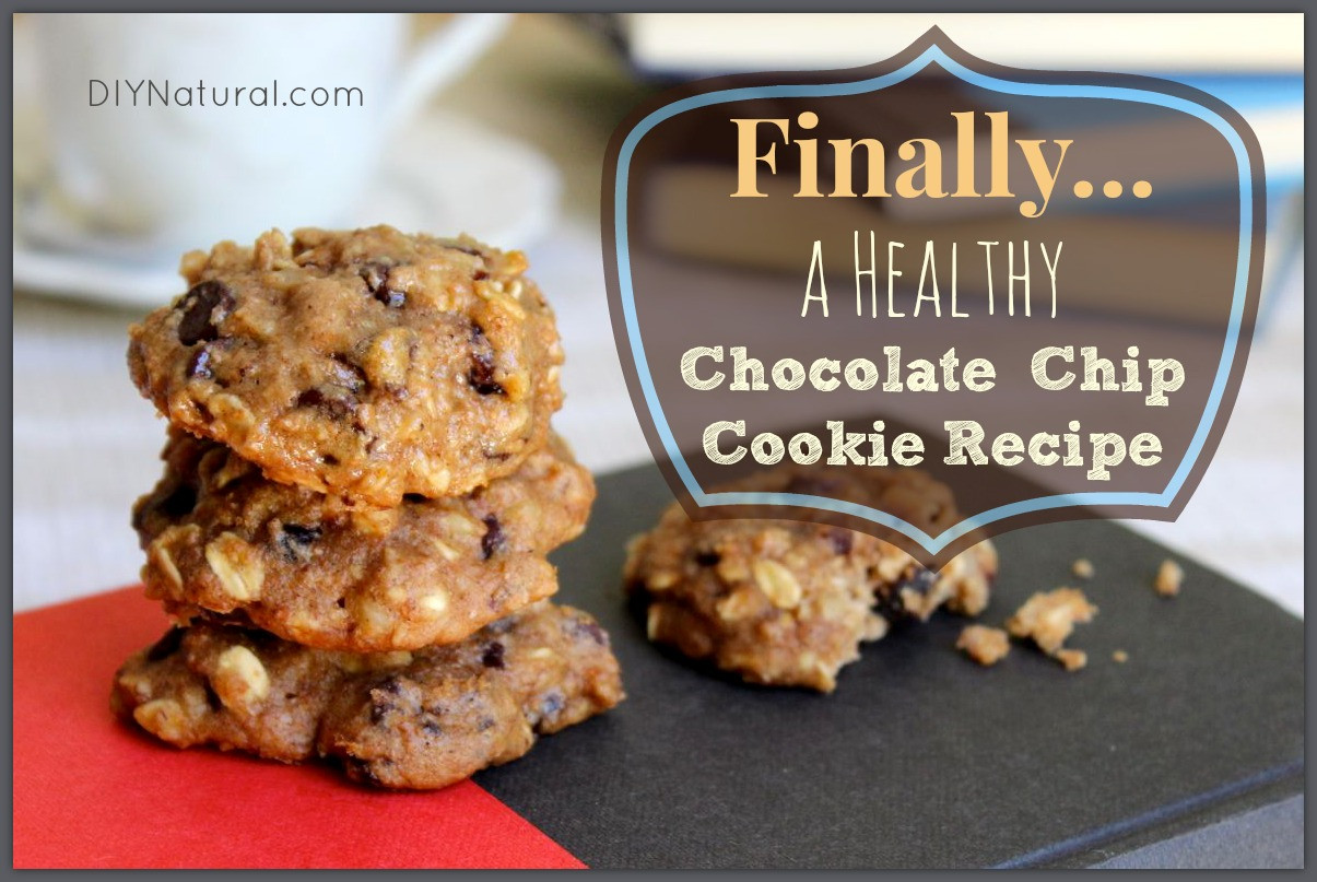Chocolate Chip Cookies Healthy  Healthy Chocolate Chip Cookies A Recipe You ll