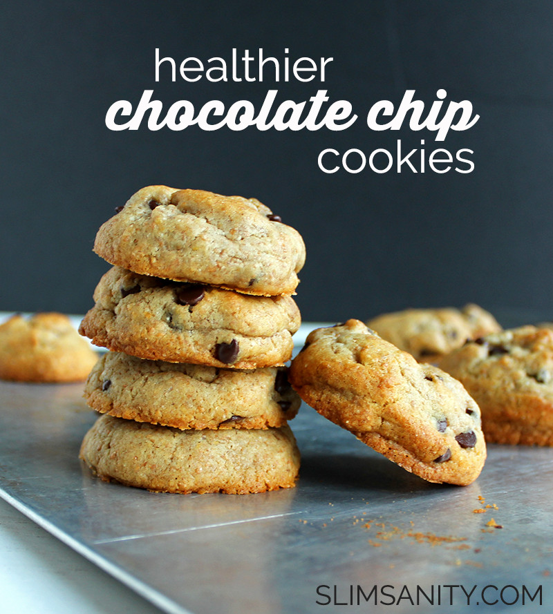 Chocolate Chip Cookies Healthy  healthy chocolate chip cookies
